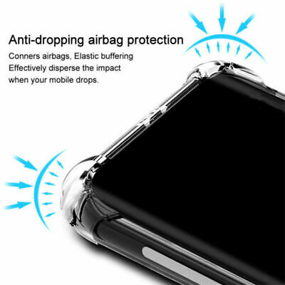 Shockproof Case For Samsung Galaxy A70 A50 A40 A30 A20 A10 Clear Silicone Cover 7
