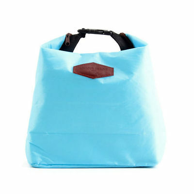 Thermal Insulated Cooler Waterproof Picnic Lunch Bag Lunch Box Storage Portable 7