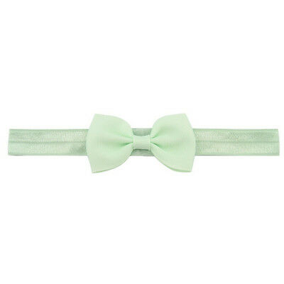 20X Baby Girls Bow Headband Hairband Soft Elastic Band Hair Accessories Pop. 7