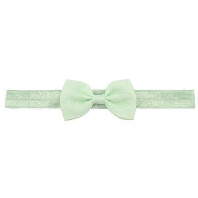 20X Baby Kids Girls Bow Headband Hairband Soft Elastic Band Hair Accessories 7