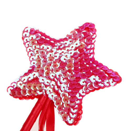 Cute Five pointed Star Fairy Wand Magic Stick Girl Party Princess Favors 2017 DS