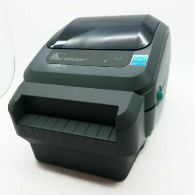 Zebra GX420d Thermal Label Printer with Auto Front Cutter USB RJ45 LAN Ethernet