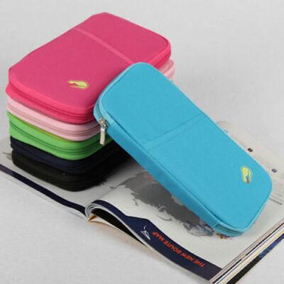 Travel Wallet Family Passport Holder Accessories Document Organizer Bag Case US 2