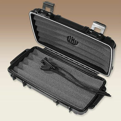 Herf A Dor X5 Five 5 Stick Cigar Caddy Travel Case Humidor - New 3