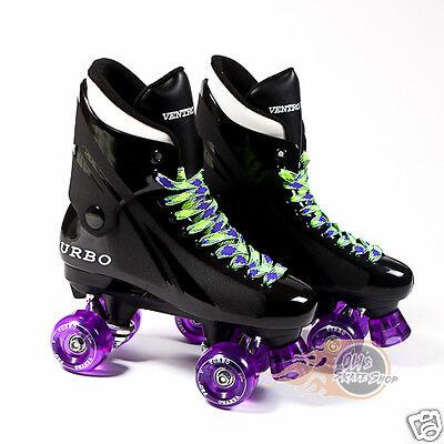 Ventro Pro Turbo Quad Roller Skates, Bauer Style - Purple 2