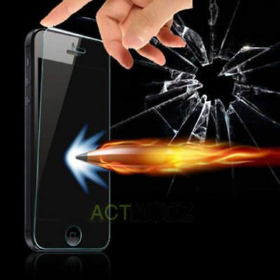 Hq Premium Real Tempered Glass Screen Protector For Iphone Se 5S 5C 5 Case Clear 2