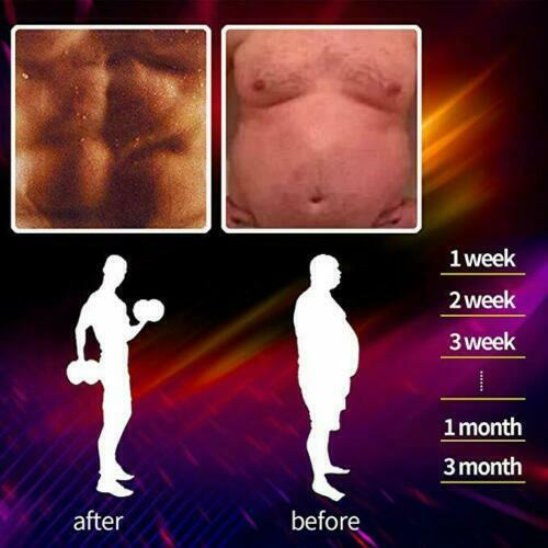 Men Weight Loss Waist Trainer Slimming Sauna Neoprene Slimming Body Shaper HOT 4