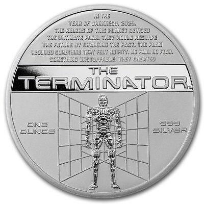1 oz Stardust Terminator Silver Round (New)