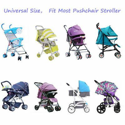 Buggy Rain Cover Universal Raincover For Baby Pushchair Stroller Pram Waterproof 3