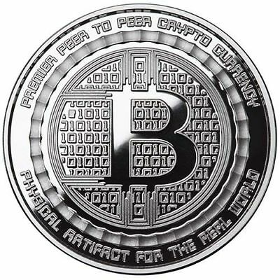 Bitcoin Guardian Proof 1 oz .999 fine Solid silver commemorative Digital AI Rare 6