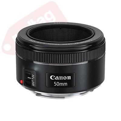 Canon EF 50mm f/1.8 STM Lens Standard Auto Focus Lens BRAND NEW 2