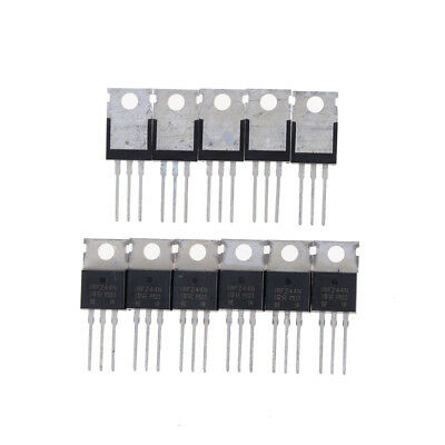 10pcs IRFZ 44N IRFZ 44 Transistor De Puissance MOSFET N-Channel 49 A amp 55 V H5U7