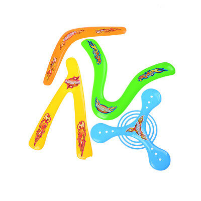 Balls, Frisbees & Boomerangs Kids 4 Shapes Colorful Boomerang Lightweight Genuine Returning Throwback Toy vb Outdoor Toys & Structures
