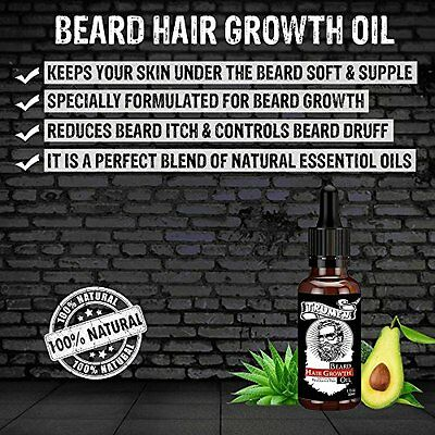 #1 Beard Growth Oil From TruMen for Thicker, Softer and Healthy Hair. 2