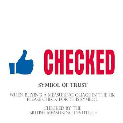Ring sizer UK Official British Finger Measure Gauge Men Women CERTIFIED CHECKED 2