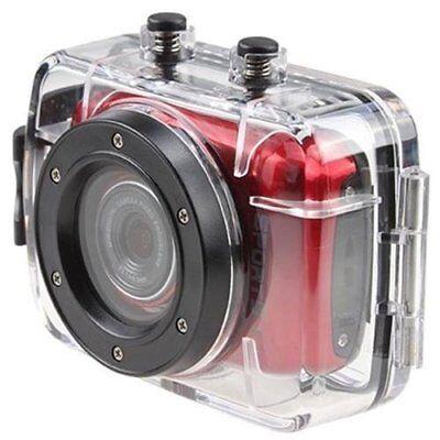 """VIDEOCAMERA DIGITALE HD SCHERMO 1.5/"""" 1080P SPORT CAMERA SUBACQUEA CASCO MOTO 12M"""