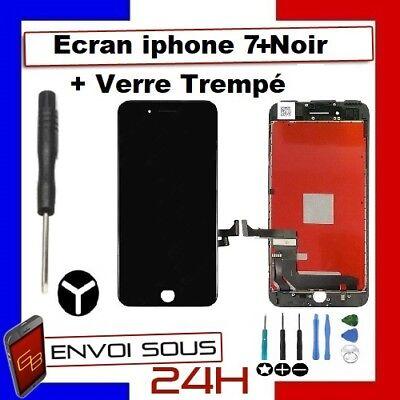 ECRAN LCD VITRE TACTILE NOIR BLANC IPHONE 7 /  7 plus  iphone 8 OU 8 PLUS 4