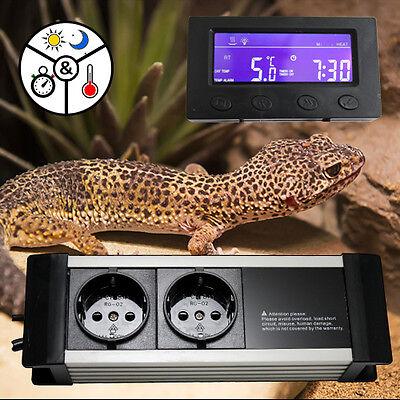 Thermostat Thermo Zeitschaltuhr Alarm Aquarium Terrarium **externes Display* Txa 3