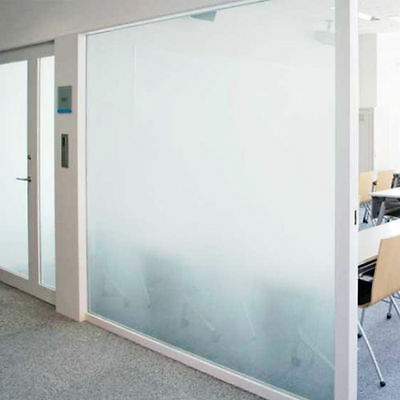 White Frost Privacy Frosted Window Film Matte Opal Etch Tinting Tint Glass Vinyl 6