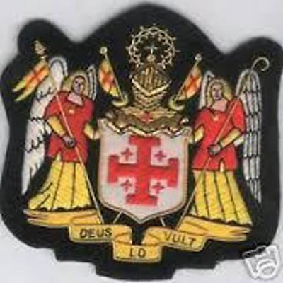 Medieval Crusade Knight Sepulcher Jerusalem Malta Medal War Cross Holy Latin Set