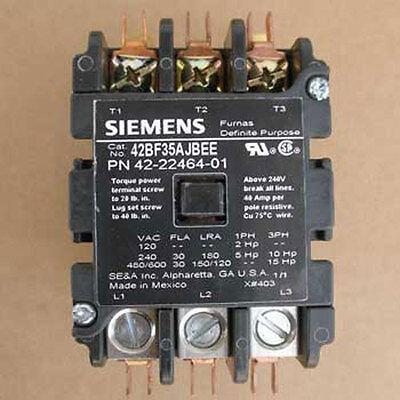 NEW Siemens 42BF35AJBEE Definite Purpose Controller 3P 24VAC 60Hz Coil 2