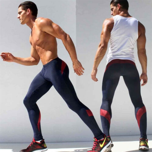 ade40a26d831 5 von 11 Herren Kompressions Leggings Sports Laufhose Base Layer Gym  Trainingshose Tights