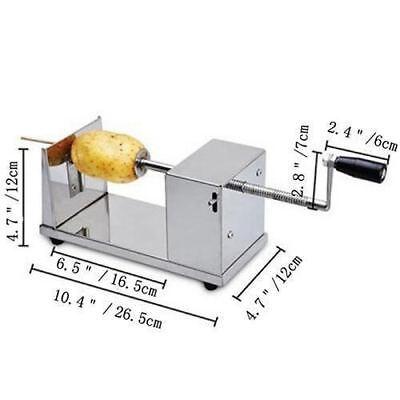 Manual Operation Potato Twister Tornado Slicer Automatic Cutter Machine Spiral