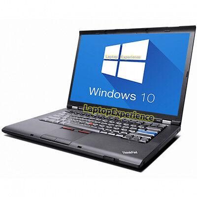 IBM LENOVO LAPTOP THINKPAD T400 WINDOWS 10 WIN DVDRW WiFi CORE 2 DUO 2.26GHz PC 2