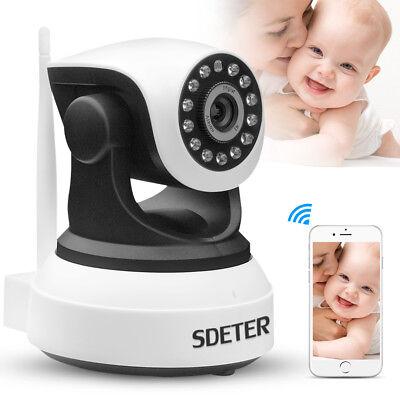 720P Wireless Wifi Pet Baby Monitor Two Way Audio Night Vision Alarm IP Camera