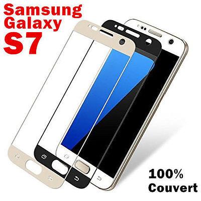 Vitre Protection VERRE Trempé Incurvé Film Ecran Samsung Galaxy S7 S8 Plus S9 3D 2