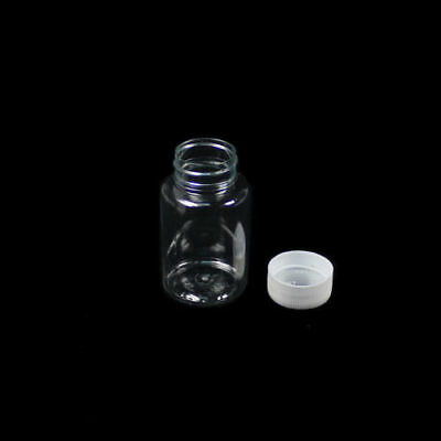 5PCS 100ML Clear plastic seal vials medicine sample container bottle with lid 3