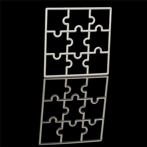 Scrapbook Kart Stanzschablone Weihnachtsbaum Puzzle Stencil Cutting Dies