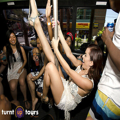 LAS VEGAS PARTY BUS NIGHT CLUB TOUR JUST $20 ($99 value+Free E-shipping) 11