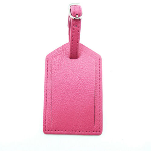 Luggage Tags Travel Accessories Suitcase Tag Name ID Address PU Leather Bag SKY 5