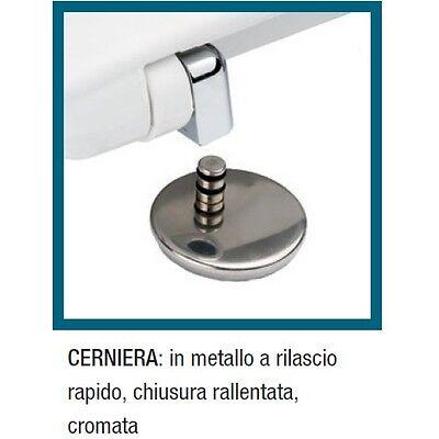 Sedile Wc Chiusura Rallentata.3s Sedile Chiusura Rallentata Wc Garda Ceramica Dolomite Soft Closing Copriwater