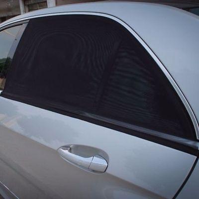 Univesal 2x Car Rear Window UV Mesh Sun Shades Blind Kids Child Sunshade Blocker 4