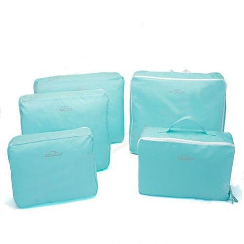 5pcs Packing Cube Pouch Suitcase Storage Bags Clothes Travel Luggage Organizer 7