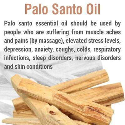 Palo Santo Oil (Bursera graveolens) 100% Natural Pure Essential Oil 4