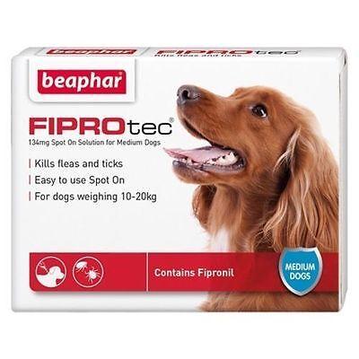 Beaphar Fiprotec Pulgas Spot-On para Pequeños Mediana Grande XL Dogs&cats 4