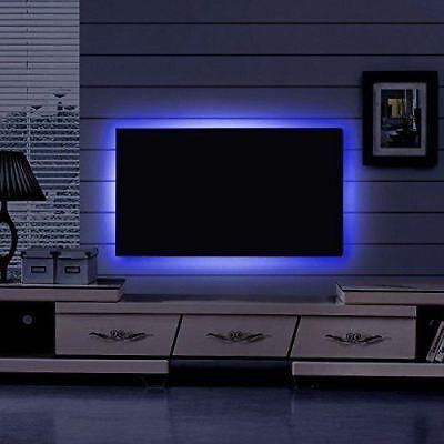 5V 1M-5M Usb Power Led Strip Lights Tv Back Rgb Colour Changing + Remote Control 4