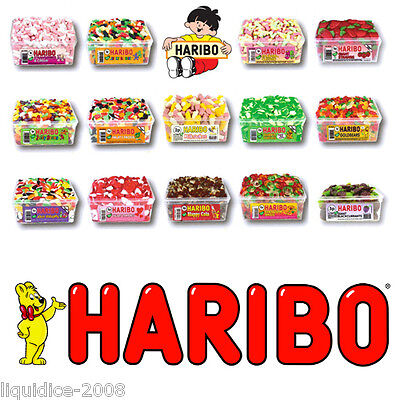 1 X Full Tub Haribo Sweets Candy Children's School Bags Treat Sweet Gift Party 4