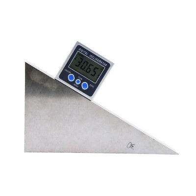 Digital Protractor Inclinometer Bevel Box Electronic Angle Meter Angle Finder 7