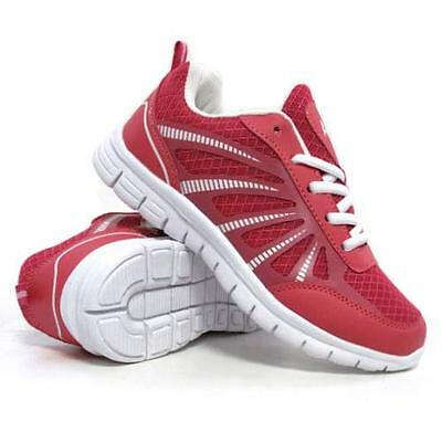 Ladies Running Trainers Womens Air Shock Absorbing Fitness Gym Sports Shoes Size 3