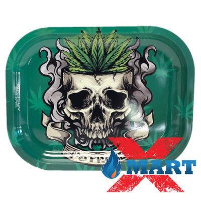 Smoke Arsenal SOUR DIESEL Tobacco Metal Small Rolling Tray 7x5