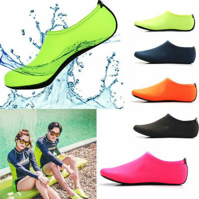 Unisex Aqua Shoes Mens Womens Kids Water Socks Slip On Sea Wet Beach Swim Surf H 2