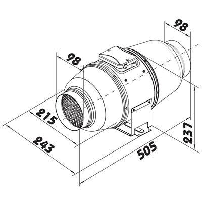 Gabelauge für SC 40 Luftzylinder Aircylinder Zylinder ETSC40i