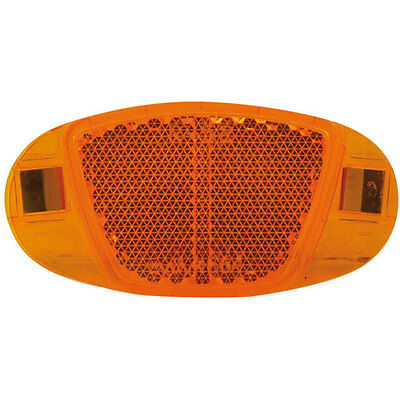 orange // gelb Katzenauge 2x Fahrrad Speichen Reflektoren Speichenstrahler