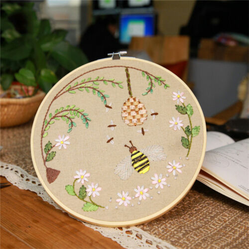 "Wooden Embroidery Cross Stitch Tapestry Ring Hoop Frame 4"" to 12""  Useful"