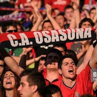 CA Osasuna Spanish La Liga Football Scarf New Sealed 2