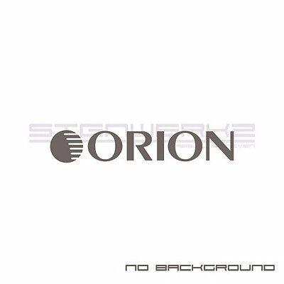 Orion Audio sticker VINYL DECAL Automobile Car Stereo System Acoustics